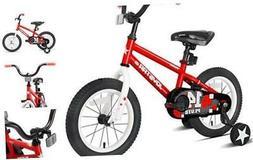 JOYSTAR Pluto Kids Bike with Training Wheels for 12 14 16 18