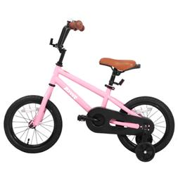 JOYSTAR Totem Series 16-Inch Bike with Training Wheels & Kic