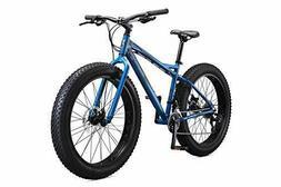 Mongoose Juneau 26-Inch Fat Tire Bike, Slate Grey