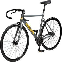Pure Cycles Keirin Complete Fixed Gear Track Bike with Doubl