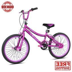 "Kent 20"" 2 Cool BMX Girl's Bike, Satin Purple, For Height Si"