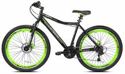 """Kent 27.5"""" Genesis Men's, RCT Bicycle, Green Disc Brakes Shi"""