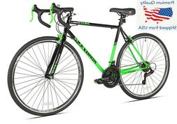 Kent 52714 700c Men's Road Bicycle - Green/Black