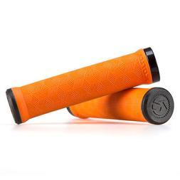 Kona Key MTB Grips Single Lock-On 30mm x 136mm Orange