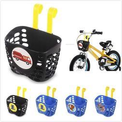 Kid's Bike Basket for Boy Cute Fire Truck Dino Shark Dog Bic