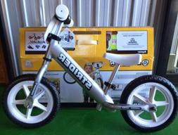 Strider Kids' 12 Pro Balance Bicycle Silver - NEW IN BOX!