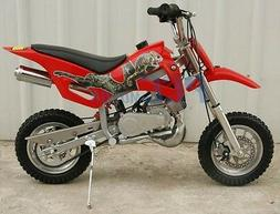 KIDS 49cc 2-Stroke GAS Motor Mini Pocket Dirt Bike Free S/H