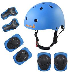 Lanova Kids Adjustable Sports Protective Gear Set Safety Pad