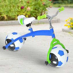 Kids Balance Bicycle No-Pedal Learn To Ride Pre Bike Soccer