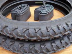Kids Bicycle Tires and Tubes 16x2.0 Fits 1.75 16x1.95 2.125
