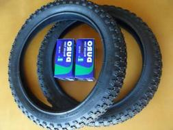 Kids Bicycle Tires and Tubes 16x2.125 Fits 16x1.75 16x1.95 B