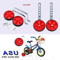 Kids Bicycle Training Wheel for 12-20inch Bicycle Adjustable