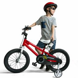 RoyalBaby Kids Bike Boys Girls Freestyle Bicycle 12 inch wit