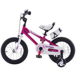Royalbaby Kids Bike Freestyle BMX Steel Training Wheels 16 I