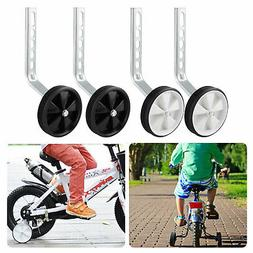 Kids Children's Bike Bicycle Training Wheels Side Wheels for