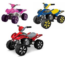 Kids  Motor Ride on 4 Wheel Bike Boys Girls 6 Volt Battery P