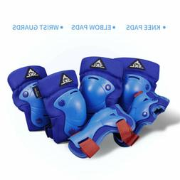 Kids Protective Gear SKL Knee Pads Elbow Wrist Guards for Sk