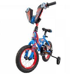 "Kids Spider-Man Boys Bike 12"" Superhero Design w/ Training W"