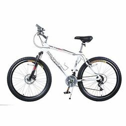 Titan White Knight Aluminum Suspension Men's Mountain Bike w