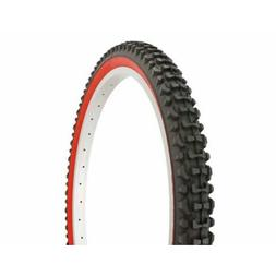 Duro Knobby Tread Mountain Bike Tire 26in x 2.10in, Black