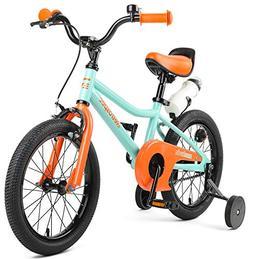 """Retrospec Koda Kids Bike with Training Wheels, 16"""" 3-7yrs, S"""