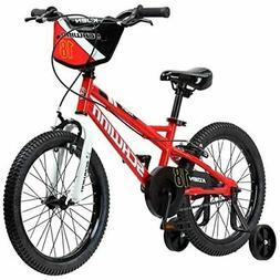 """Schwinn Koen Boy's Bike with SmartStart, 18"""" Wheels, Red"""