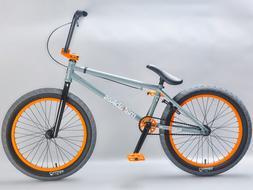 Mafiabikes KUSH 2+ 20 inch BMX bike Grey Orange