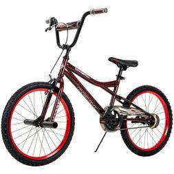 "Huffy Kyro 20"" BMX-Style Boys Bike for Kids, Red / Black Cra"