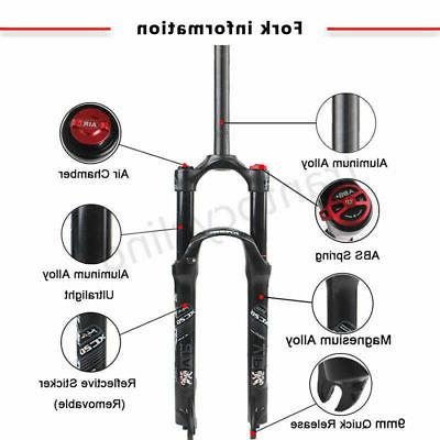 "KRSEC 1-1/8"" Mountain Bike Air Shock Suspension 26/27.5/29"" Travel"