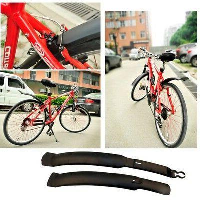 Cycling MTB Mountain Bike Road Bicycle Front Rear Mudguard Fender Set Mud Guard