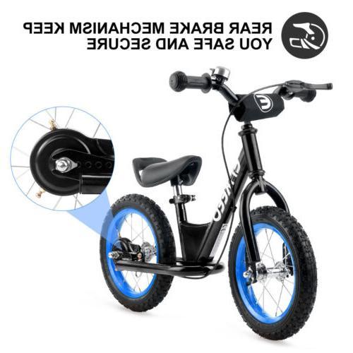 "12/14"" Sport Balance Bike No Pedal Control Walking Bicycle F"