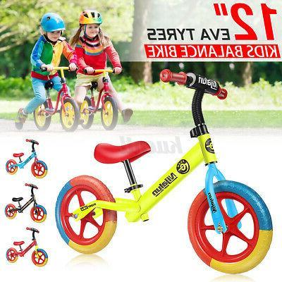 12'' Toddler EVA Tyre No Pedal Push Bicycle