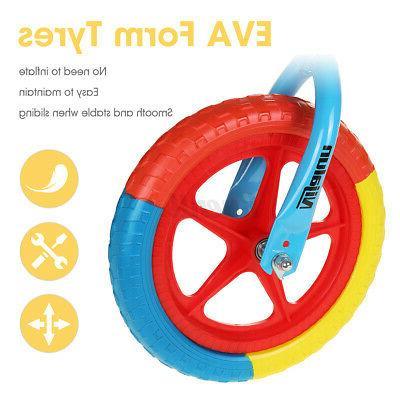 12'' Adjustable Toddler EVA Tyre Balance No Training Bicycle