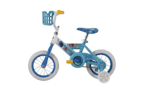 Huffy Finding Dory with Training Wheels & Basket, Blue