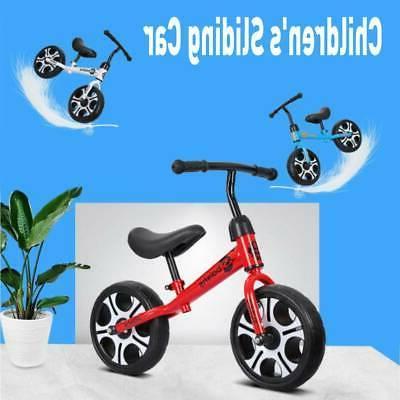 "12"" Balance No Pedal Bicycle Adjustable"