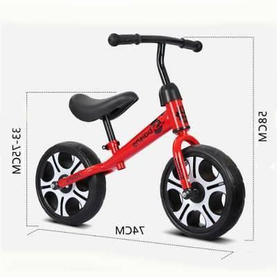"12"" Kids No Pedal Bicycle Adjustable"