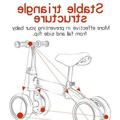 "12"" Kids Balance No Bicycle Adjustable Seat"