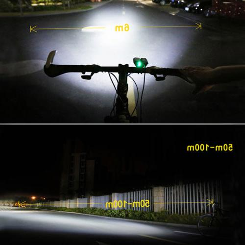 Rechargeable XM-T6 Bicycle Light Bike