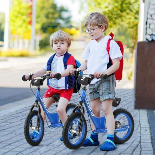 12''/14'' Kids Balance Bike Cycling No-Pedal Learn To Ride P