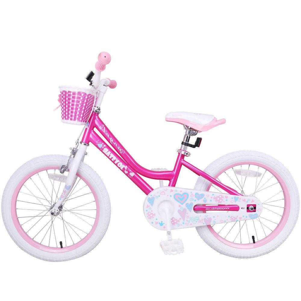 JoyStar 14,16,18 Inch Kids Bike Bicycle with Training Wheels Coast Brake 2Colors