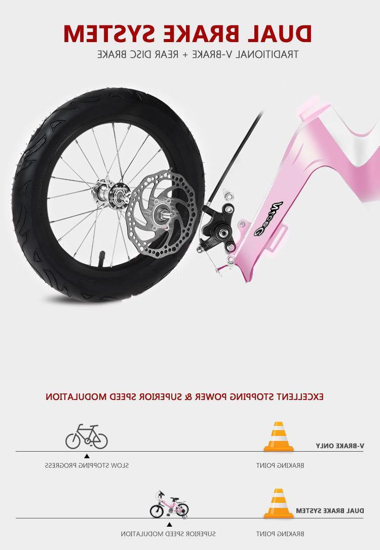"12""-14""-16""-18"" Bike Boys with Training Wheels"