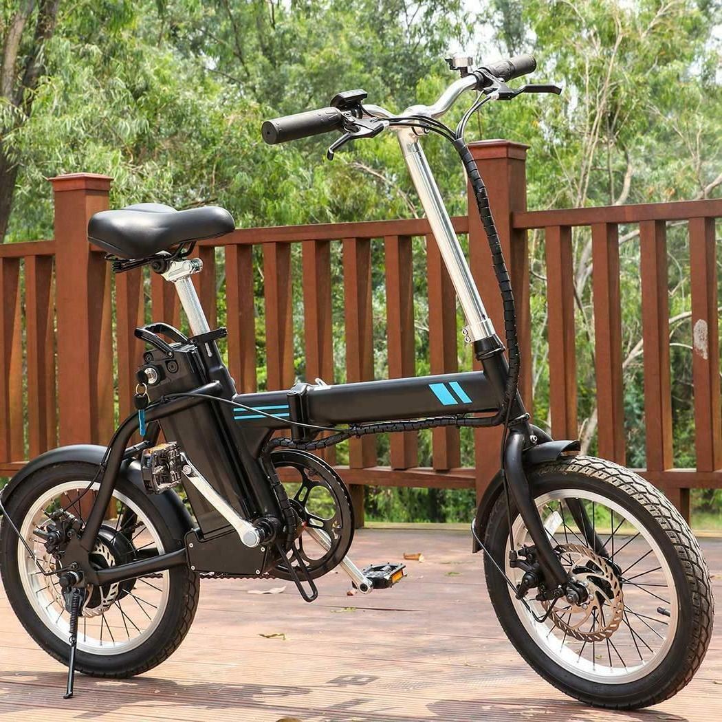 26'' Electric Bike Ebike Mountain Bicycle City Folding Cycli