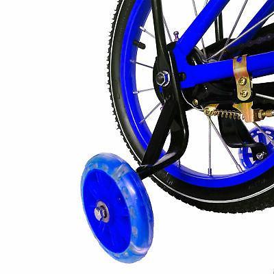 NextGen 16 Inch Kids Bicycle Training Basket, Blue