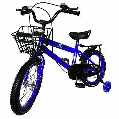 NextGen 16 Kids with Training Wheels Blue