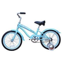 Girl's 16 Mini Bella Beach Cruiser Bicycle II, Baby Blue