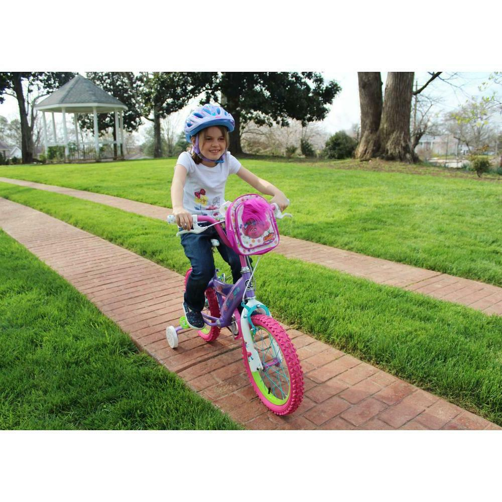 16Inch Bicycle Steel Girls Pink Training Wheels DreamWorks