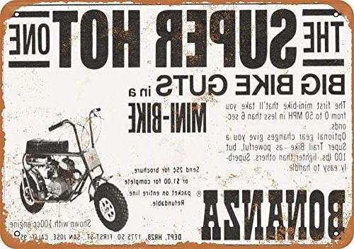 1969 bonanza minibikes vintage look