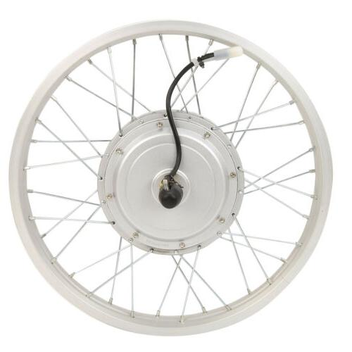 """20"""" 36V 750W Tire Electric Bicycle Conversion Kit Cycling New"""