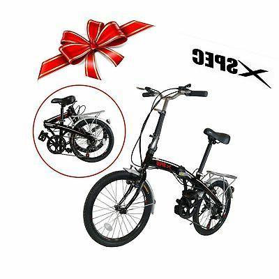 Xspec City Folding Compact Bike Bicycle