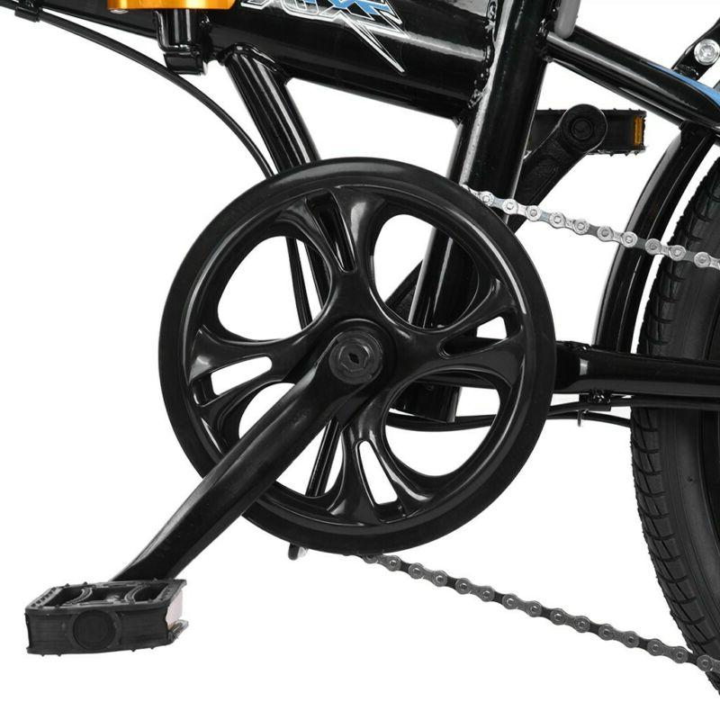 """20"""" 7 Speed Folding Compact Suspension Bicycle Urban"""